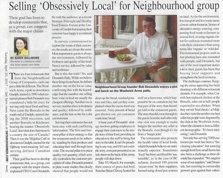 Obsessively Local for Neighbourhood Group