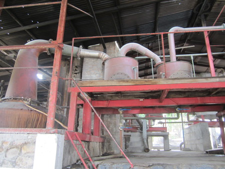 sugar cane processing still